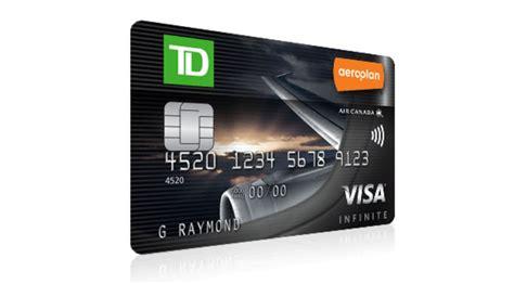 Td Visa Gift Card - review td aeroplan visa infinite credit card ratehub blog