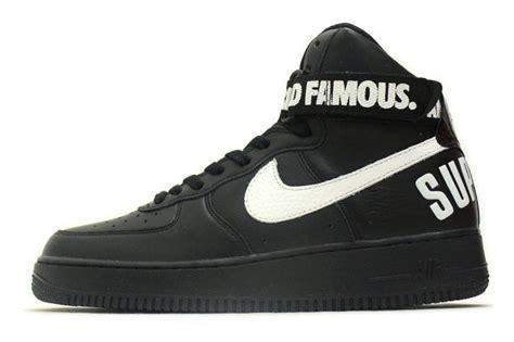 Nike Airforce Shoes Sepatu Addict10 auc soleaddict rakuten global market nike air 1 high supreme sp black 698696 010 nike