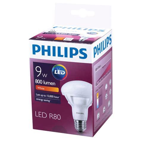 philips 9w r80 r80 led reflector globe bunnings warehouse