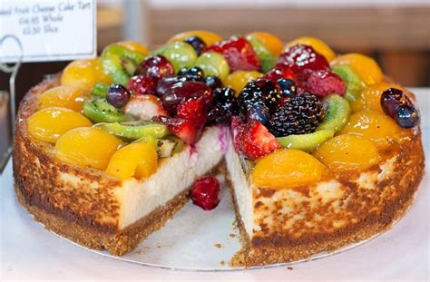 Fruit Cheese Cake fruit topped cheesecake