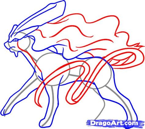 how to draw with you doodle how to draw suicune step by step characters