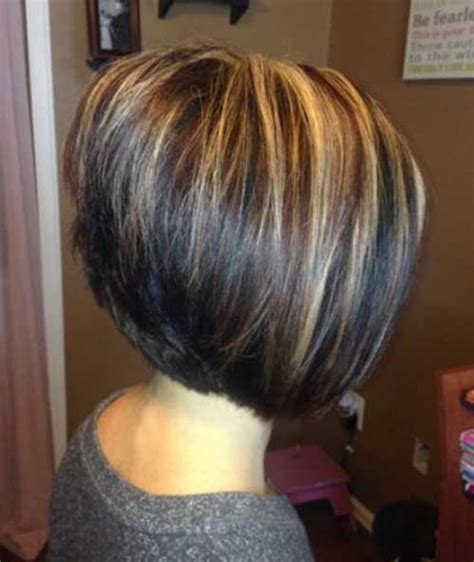 highlight for very short haircuts hair highlights for inverted short hair