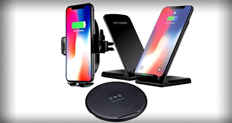 this ultimate iphone xs xs max wireless charging bundle adds qi to your home office and car