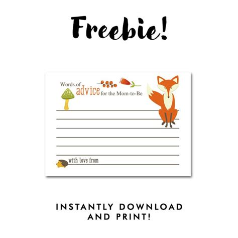 Baby Shower Advice Cards Free Template by Best 25 Baby Shower Advice Ideas On