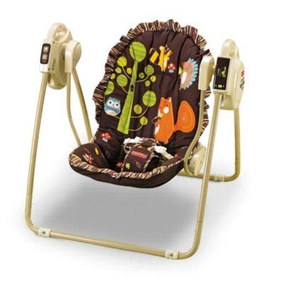 graco swing owls fisher price baby take along swing woodland animal owl