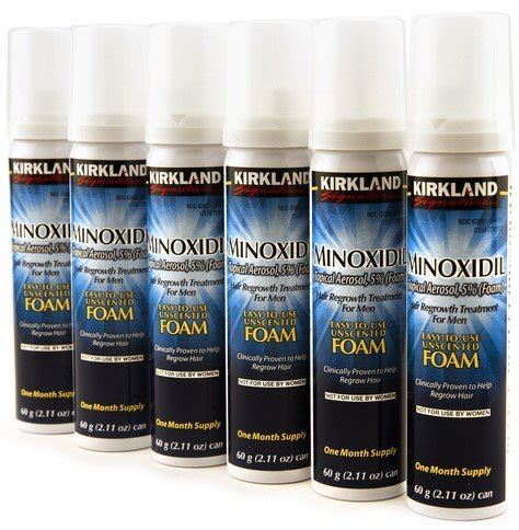 Kirkland Signature Minoxidil review of the 15 best minoxidil products hold the hairline