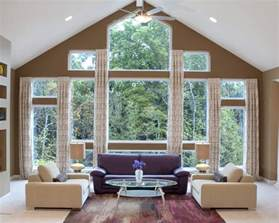 Window Covering Ideas For Large Picture Windows Decorating Confused About Window Treatments Decorating Den Interiors