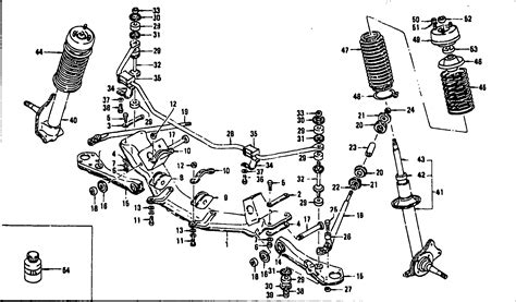 front suspension parts diagram 2000 toyota camry front suspension parts diagram html