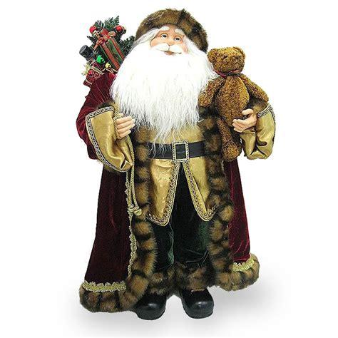 national tree company 3 foot santa figurine pl27 nt012