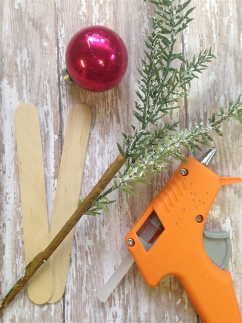 dollar store diy charlie brown christmas tree moments