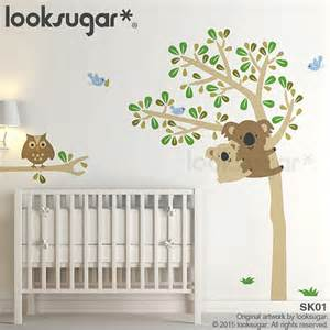 Wall Decals For Nursery Australia Koala Tree Wall Decal Owl Tree Wall Decal Baby Nursery