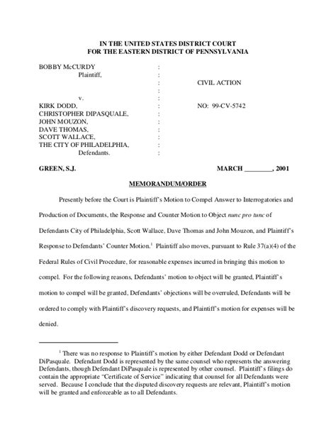 Good Legal Verbiage Defendants Objection On The Grounds Of Relevancy Request For Production Of Documents California Template
