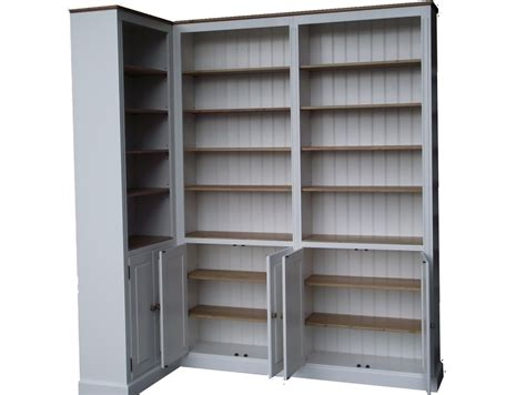 white corner bookshelf bellmar white corner bookcase