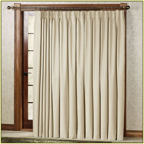 Slide Door Curtains by Doors Curtains White Door Curtain Color Is