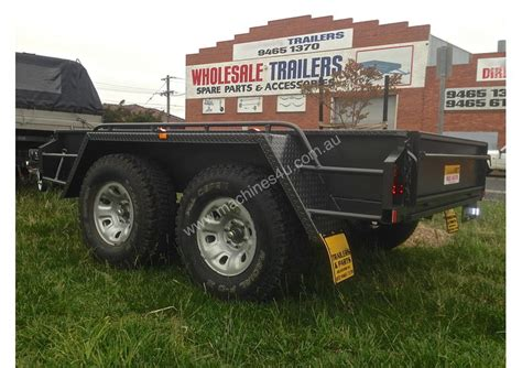 towpax offroad tandem trailer  plant trailer