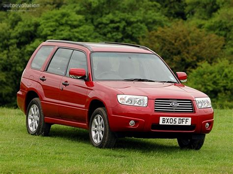 subaru forester red subaru forester specs 2005 2006 2007 2008 autoevolution