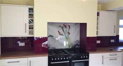 Coloured glass splashbacks Malkin Lloyd