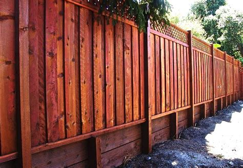 outdoor fence painting