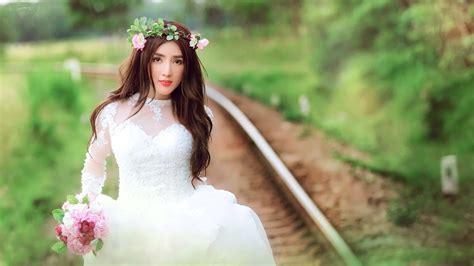 wallpaper girl dress beautiful bride white dress girl wallpaper girls