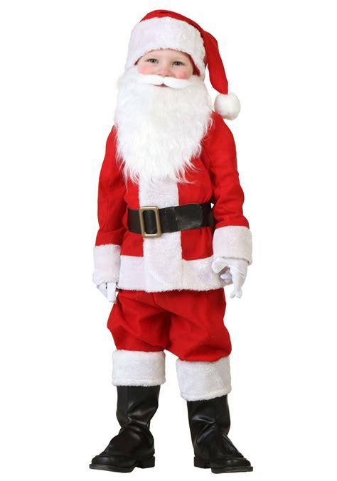 santa costume toddler santa costume