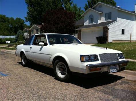 1987 buick regal limited turbo buy used 1987 buick regal limited turbo t in willard utah
