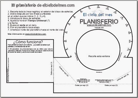 cambio de horario el cielo del mes planisferio celeste el cielo del mes