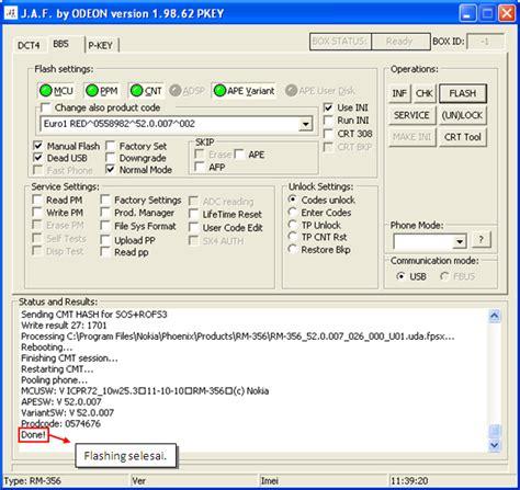 tutorial hack s60v5 cara flashing upgrade firmware symbian s60v5 dengan jaf