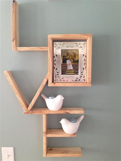 decorative shelves ideas diy pallet decorative wall shelf pallets designs
