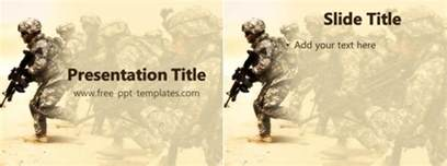 military powerpoint template template design