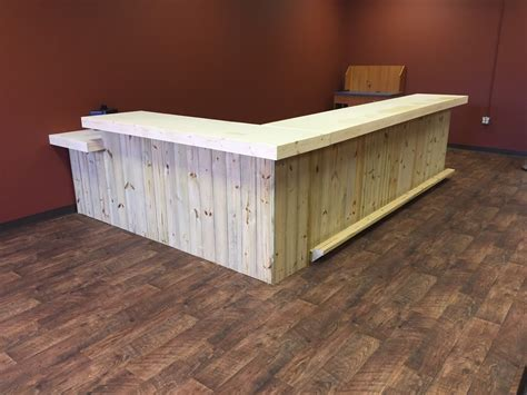 Retail Reception Desk The Lounge Up To 20 Rustic Retail Sales Counter
