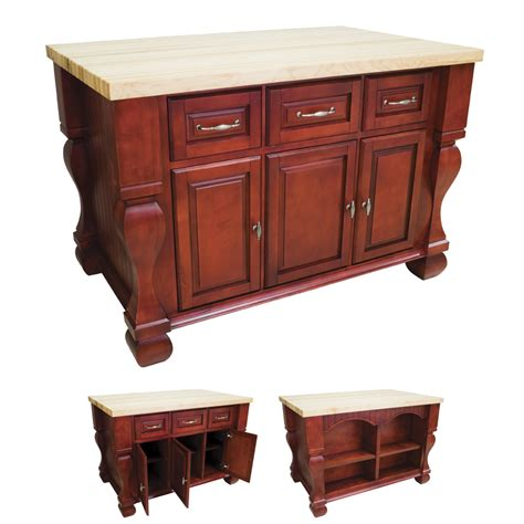 red kitchen islands dark red kitchen island isl01 red