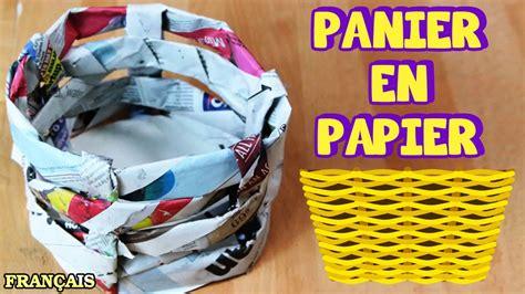 Faire Du Bricolage by Bricolage Facile Comment Faire Panier En Papier How To