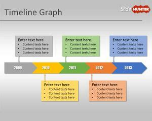 Free Timeline Graph Template For Powerpoint Presentations Microsoft Powerpoint Timeline Template Free