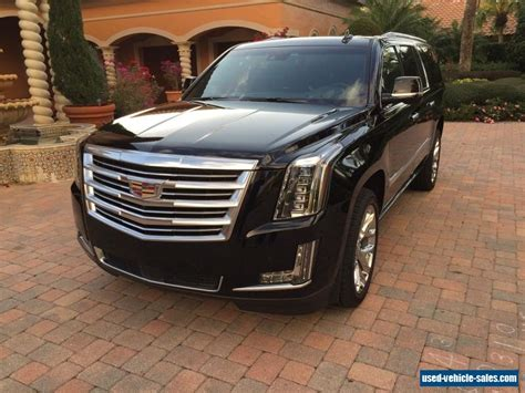 for sale cadillac escalade 2017 cadillac escalade for sale in the united states