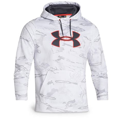 Sweater Jaket Armour Athletics White Best Item Hoodie armour s camo big logo fleece hoodie 635821 lifestyle at sportsman s guide