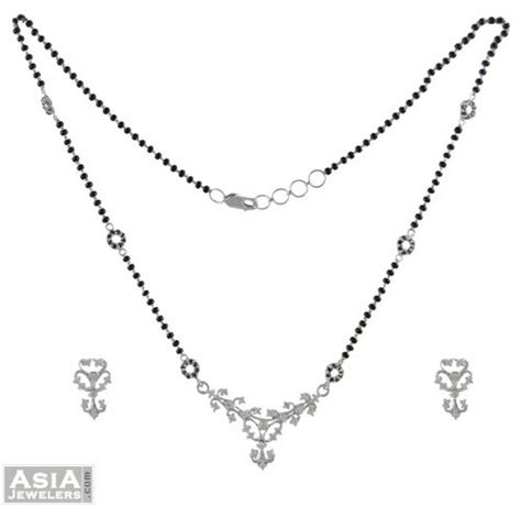 Setelan Set Gold Kucing the gallery for gt mangalsutra white gold