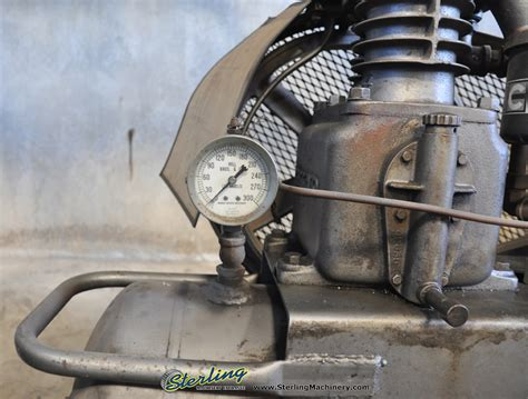used hill brothers portable air compressor air compressors sterling machinery