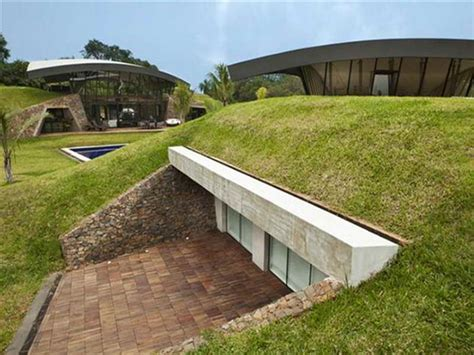 decoration beautiful underground houses design ideas