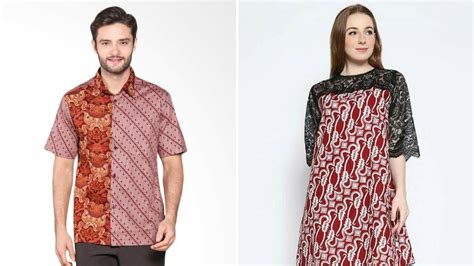 Baju Polos Hd inilah model baju batik kombinasi modern yang paling pas buat kamu