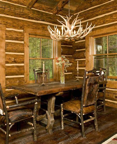 log cabin dining room lost creek cabin dining room rustic cabin western