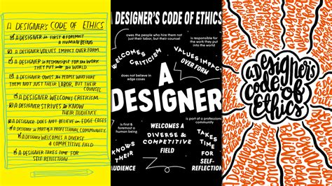 new tech ideas new tech ideas 7 designers draw their code of ethics the
