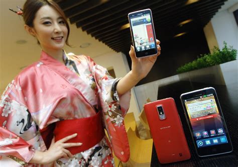 japanese android japan getting the lg optimus lte on ntt docomo android central