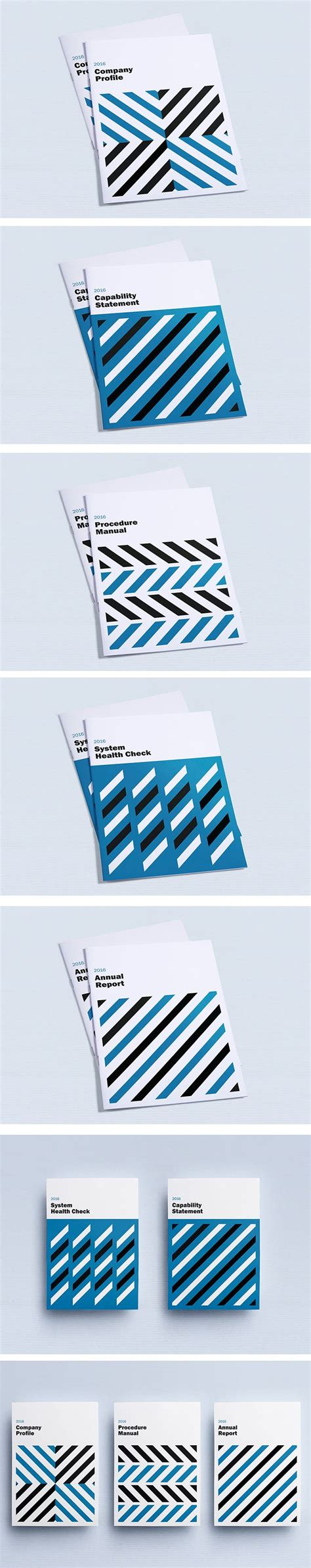 company profile layout design inspiration cover design inspiration geometric minimalist layout
