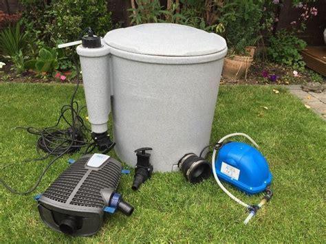 Evoloution eazypod. Koi filter. Oase. Koi air pump. Koi