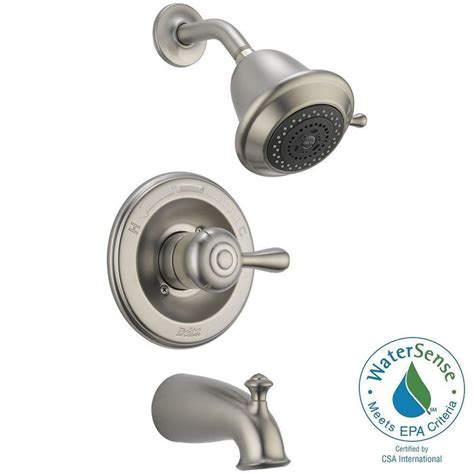 Delta 3 Handle Shower Faucet by Delta Leland 1 Handle 3 Spray Tub And Shower Faucet Trim
