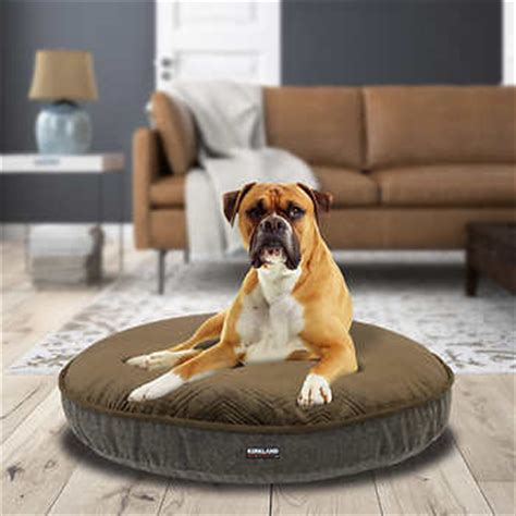 costco pet bed kirkland signature 42 quot round pet bed