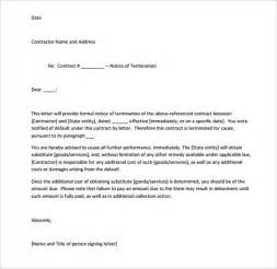 Service Termination Letter To Client Writing Service Agreements Jameswormworth