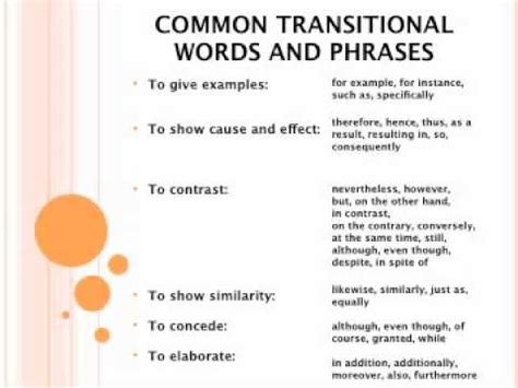 Transition Words For Essays Between Paragraphs by Paragraph Transitions