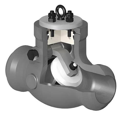 swing type check valve swing type pressure seal bonnet check valves fluitek