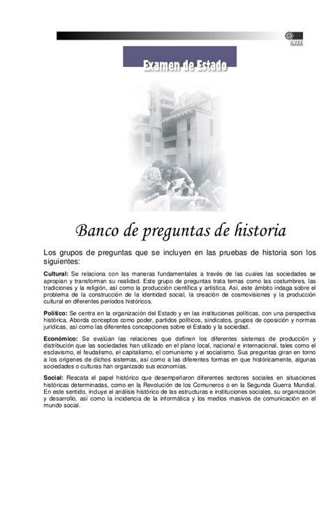 preguntas de historia del peru unmsm por temas banco de preguntas historia